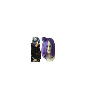 Naruto Konan Purple Cosplay Wig