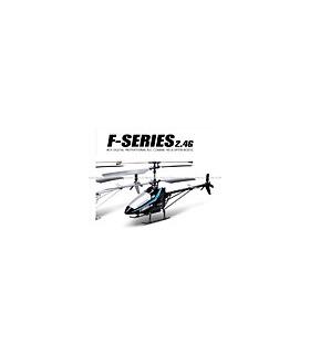 MJX F29 Shuttle 4CH 2.4G RC Helicopter RTF w/ Gyro Black
