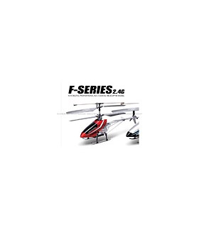 MJX F29 Shuttle 4CH 2.4G RC Helicopter RTF w/ Gyro Red