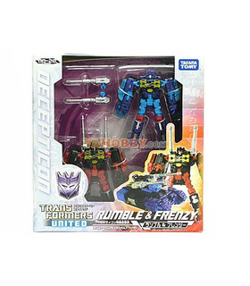 Japanese Transformers United UN-20 Rumble & Frenzy