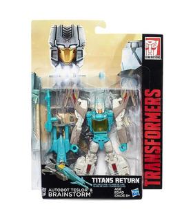 Hasbro Transformers Titanes De Retorno De Lujo Lluvia De Ideas Y Teslor Limitada Ediyion Exclusivo