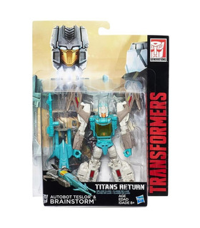Hasbro Transformers Titans Return - Deluxe Brainstorm & Teslor - Limited Ediyion Exclusive