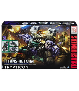 Hasbro Transformers Titanes De Retorno Titan Clase Trypticon
