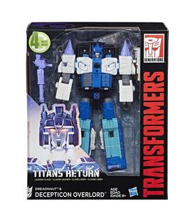 Hasbro Transformers Titanes De Retorno Líder De La Clase Overlord