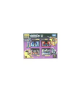 Takara Tomy Transformers G1 Encore 19 Cassette Big Mission 3 Set