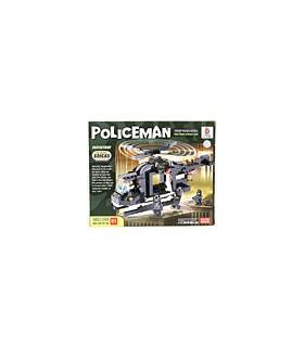 LWDRAGON Building Blocks POLICEMAN Special Duties Unit 1913601