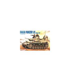 1:35 Dragon Tank Model Kits Tauch Panzer III Ausf H 9033