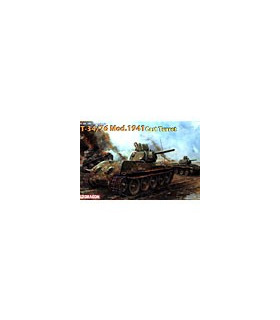 1:35 Dragon Tank Model Kits T-34/76 Mod.1941 Cast Turret 6418