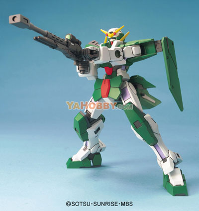 Gundam High Grade 1/144 Model Kit HG GN-002 Gundam Dynames