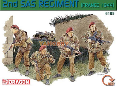 1:35 Dragon 2nd SAS Regiment France 1944 6199