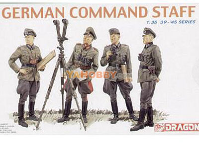 1:35 Dragon Military Model Kit German Command Staff 6213