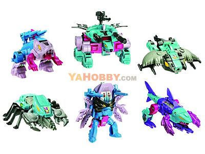 Transformers G1 Commemorative Seacons Decepticon Piranacon