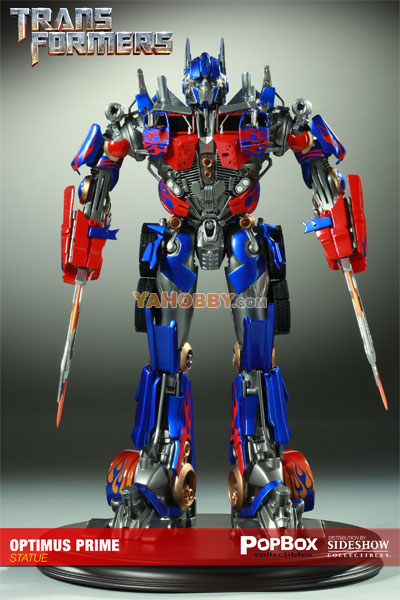 Transformers 2010 Movie 2 Optimus Prime Statuette